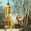 Ölmalerei, Kirche, Malerei
