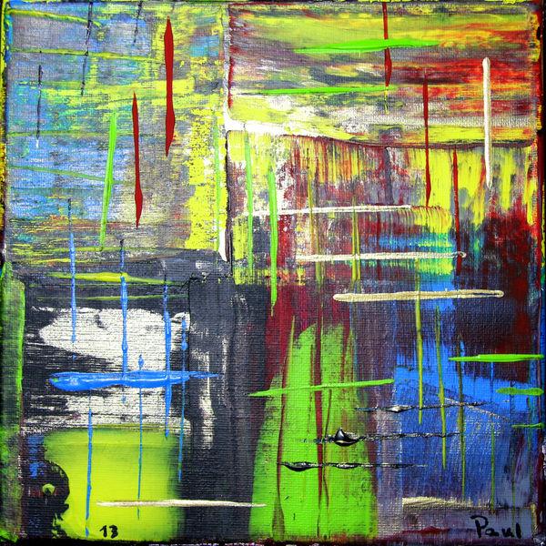 Täglich, Abstrakt, Grün, Linie, Blau, Gelb