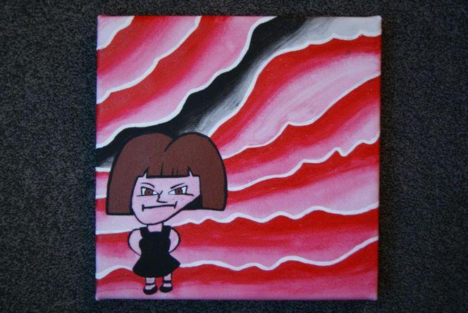 Acrylmalerei, Malerei, Portrait, Selbstportrait
