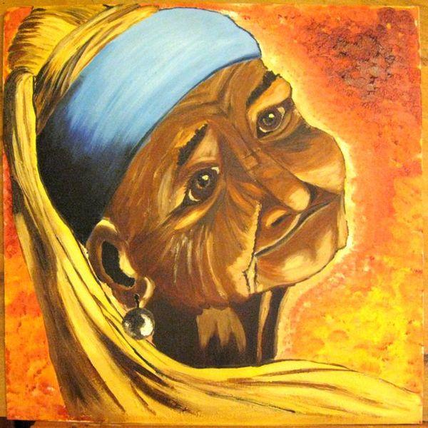 Gesicht, Malerei