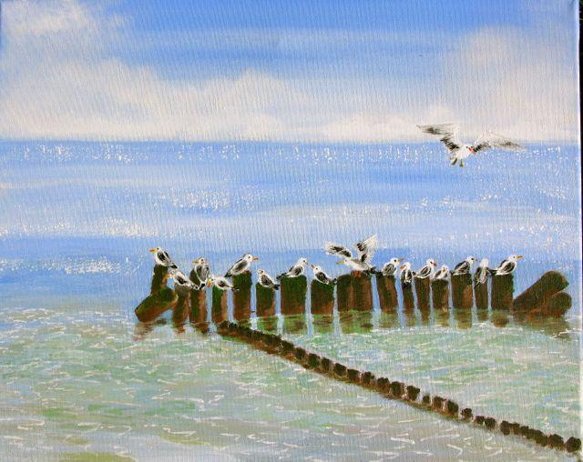 Wasser, Malerei
