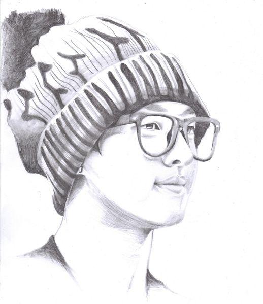 Beast, Brille, Junge, Zeichnung, Zeichnungen, Portrait