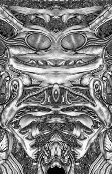 Grafik, Kugelschreiber computer, Schwarz weiß, Biest, Digitale kunst, Krabbe