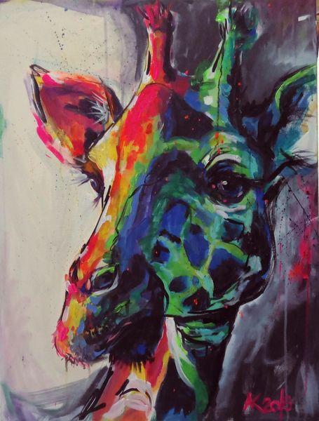 Geschenk, Afrika, Expressionismus, Regenbogen, Dekoration, Blickfang