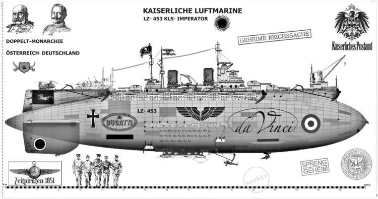 Steampunk, Roy, Fantasie, Luftschiff, Zeppelin, Digital