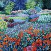 Sommergarten, Dalí, Dahlien, Hommage