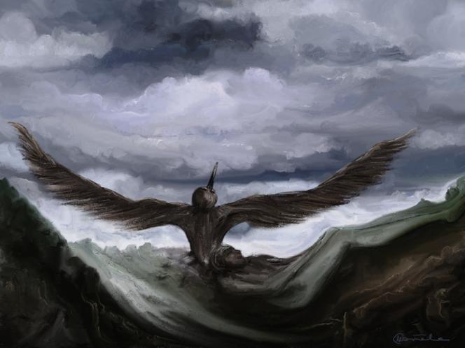Fantasie, Surreal, Traum, Malerei, Digitale kunst