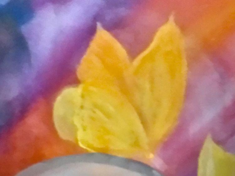 Fantasie, Sommertag, Acrylmalerei, Malerei,