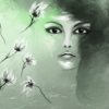 Fantasie, Ft´rau, Gesicht, Digitale kunst