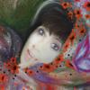 Selbstportrait, Schmetterling, Fantasie, Frau