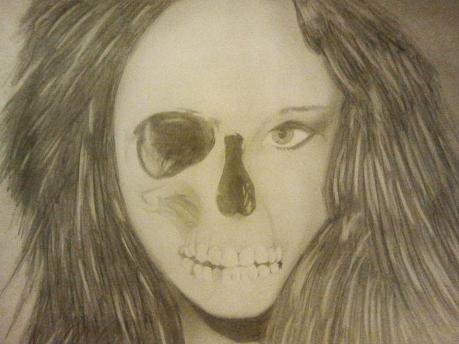 Augen, Schädel, Kopf, Zeichnungen, Abstrakt
