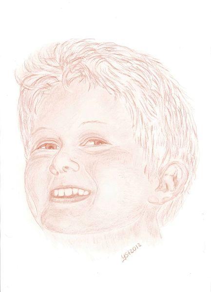 Kinder, Kinderportrait, Portrait, Menschen, Zeichnungen
