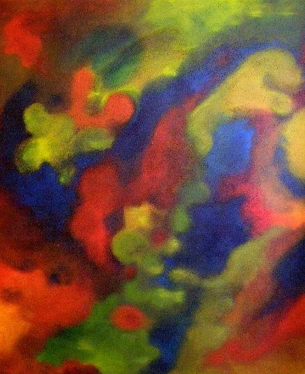Farben und formen, Malerei