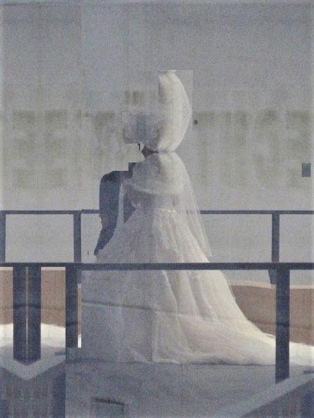 Braut, Kleid, Inszenierung, Hochzeit, Fotografie