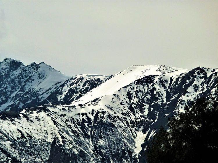 Berge, Schnee, Panorama, Seefeld, Fotografie