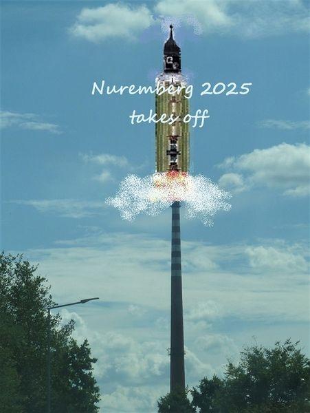 Kulturhauptstadt, Botschaft, Raumfahrt, Nürnberg 2025, Bewerbung, Fotografie