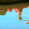 Wasser, Bootshaus, Spiegelung, See