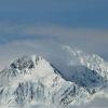 Berge, Panorama, Schnee, Winter