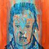 Portrait, Rückkehr 2028, Ölmalerei, Kaspar hauser