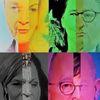 Frau, Politische farbenlehre, Partei, Menschen