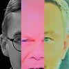 Politische farbenlehre, Gesicht, Synthese, Menschen