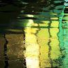 Spiegelung, Donau, Wasser, Verzerrung