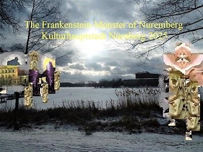 Nürnberg 2025, Botschaft, Frankenstein, Monster, Bewerbung, Kulturhauptstadt