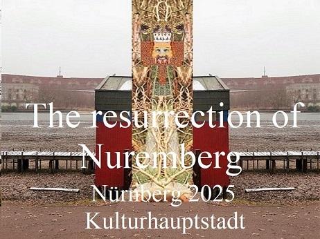 Skulptur, Nürnberg 2025, Botschaft, Bewerbung, Architektur, Kulturhauptstadt