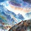 Berge, Neugier, Rau, Alaska