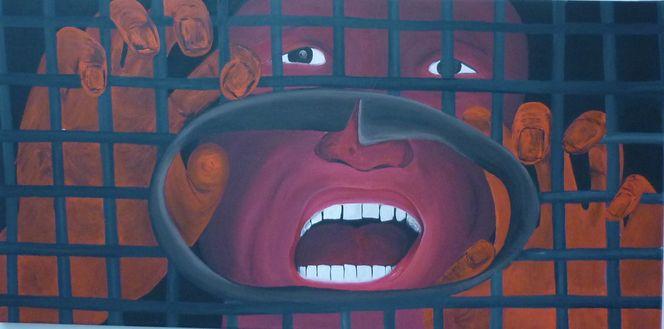 Freiheit, Acrylmalerei, Tibeter, Malerei