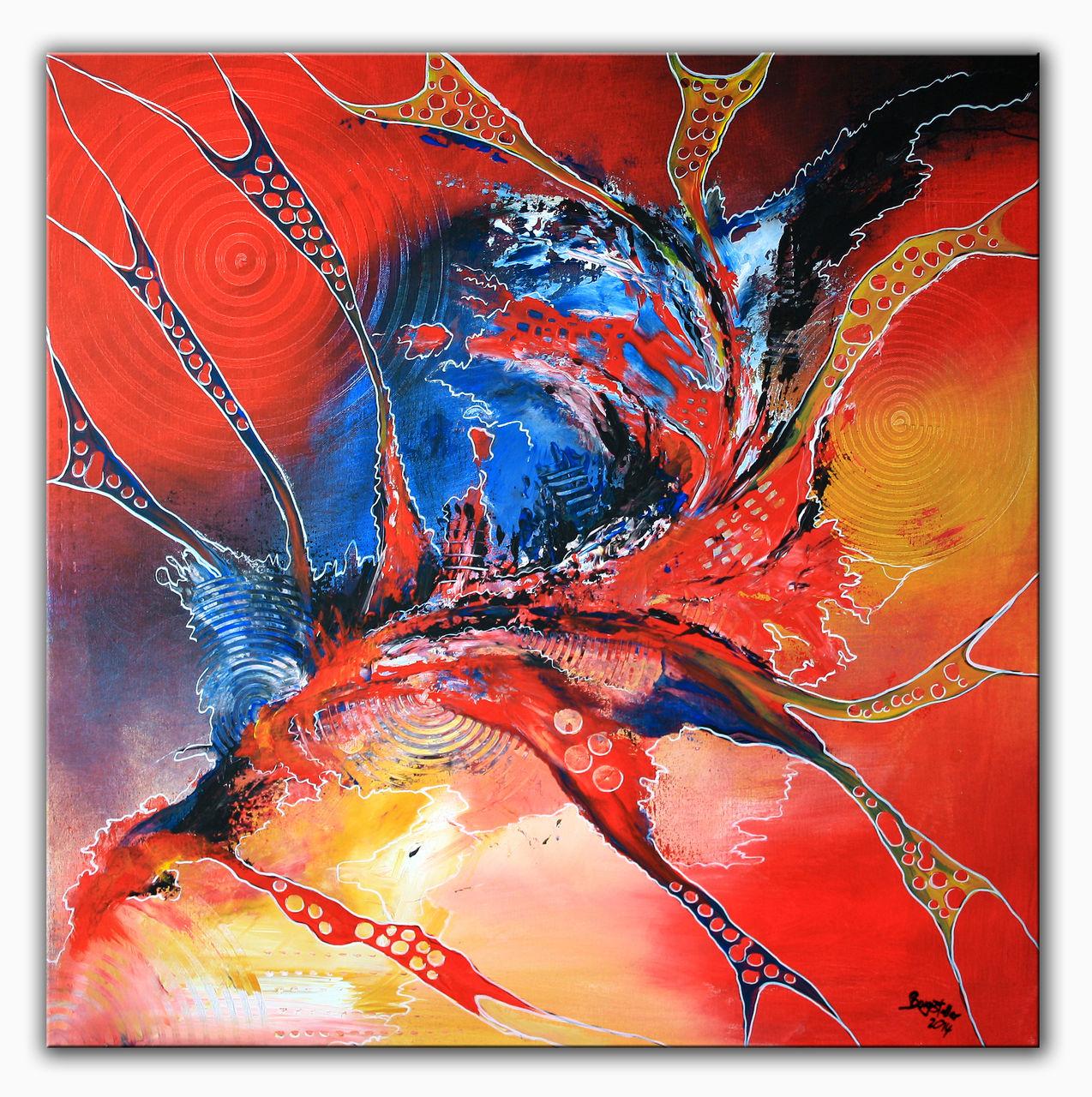 Bild: Modern, Gemälde, Künstler, Abstrakte kunst von Alex B bei KunstNet
