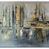 Acrylmalerei, 80x140, Malerei, Moderne kunst
