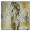 Acrylmalerei, Gelb, Gemälde erotik, Malen