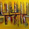Abstrakt, Dekoration, Gelb, Geschenk