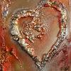 Herz, Gemälde, Malen, Dekoration