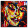 Acrylmalerei, Abstrakte gesichtsmalerei, Malerei, Abstrakt