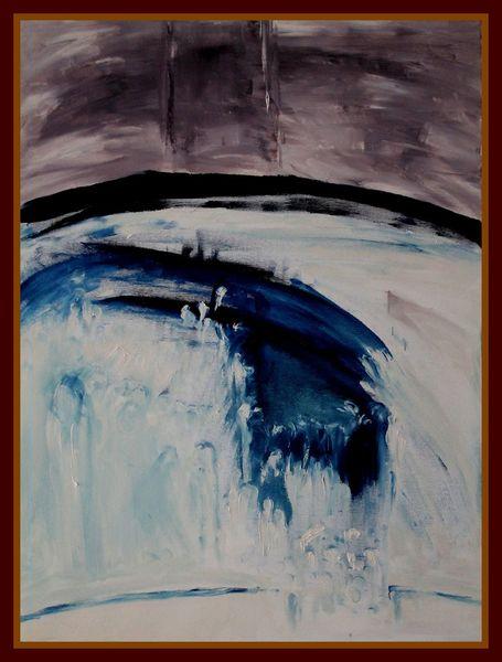 Malerei, Mischtechnik, Ölmalerei, Acrylmalerei