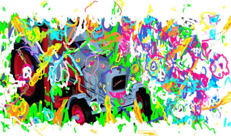 Digital, Fantasie, Ausdruck, Fotografie, Malerei, Digitale kunst