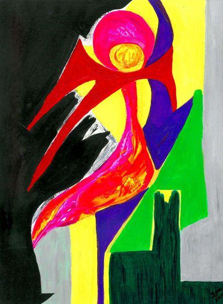 Farben, Formen, Kontrast, Symbol, Figural, Gelb