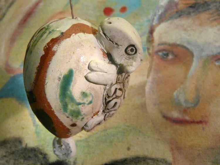 Brennen, Ostereier, Keramik, Dekoration, Lamm, Glasur