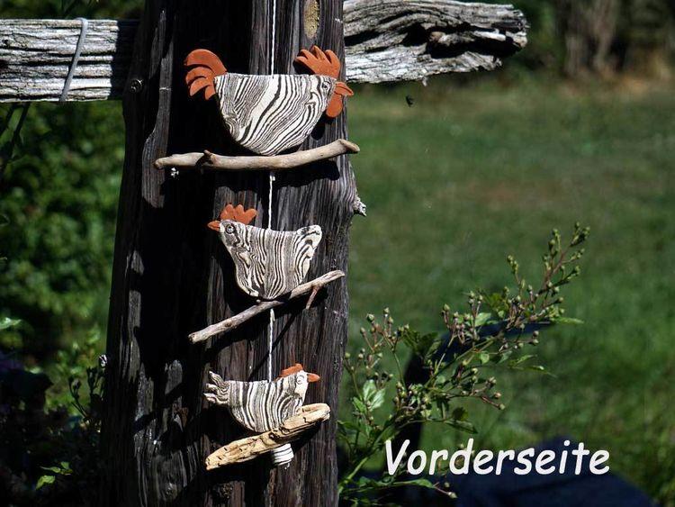 Zebrahuhn, Hahn, Keramik, Brennen, Vogel, Kunsthandwerk