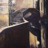 Venedig, Spiegelung, Malerei, Stadtlandschaft