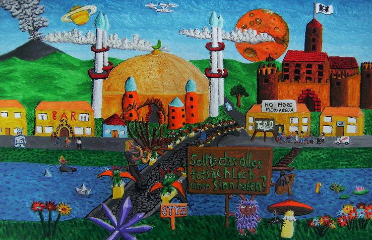 Pilze, Tafel, Moschee, Saxophonspieler, Mars, Fluss