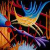 Synästhesie, Ölmalerei, Malerei, Abstrakt