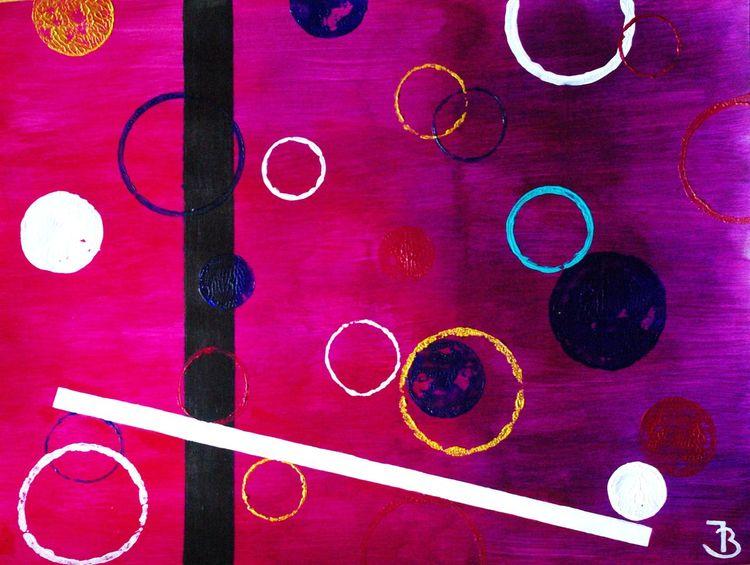 Farben, Dunkel, Tanz, Expressionismus, Kontrast, Molekül