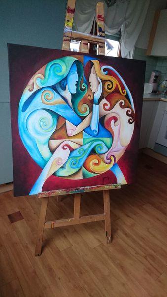 Acrylmalerei, Modern, Malerei