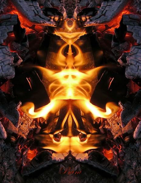 Mystik, Glut, Fantasie, Flammen, Natur, Feuer