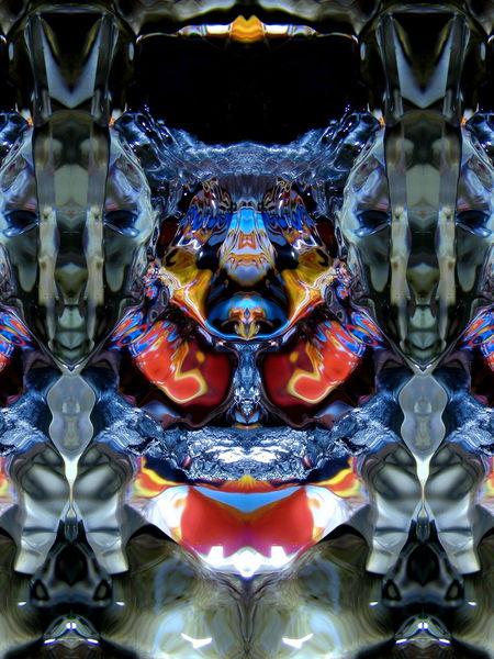 Spiegelung, Reflexion, Installation, Makro, Mystik, Wasser