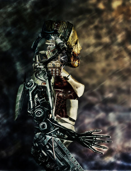 Cyborg, Maschine, Digitale kunst, Science, Fiction