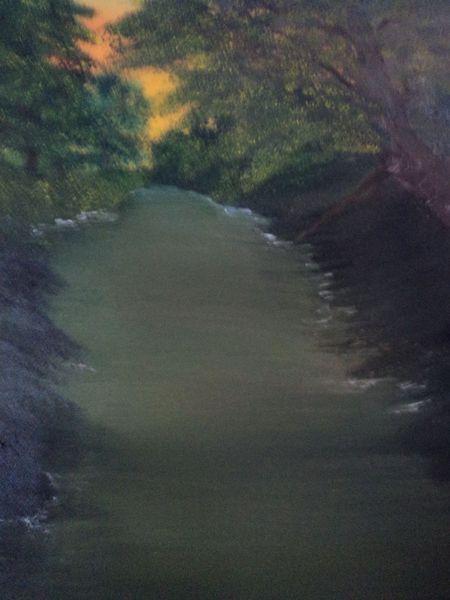 Malerei, Sommerabend